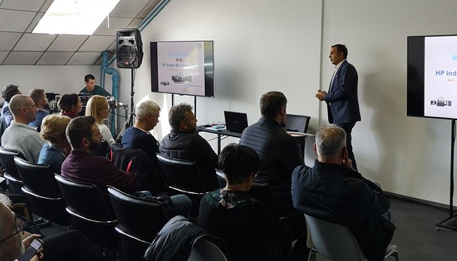 Andrej Petkovic prezentacija HP Indigo mogucnosti stampe