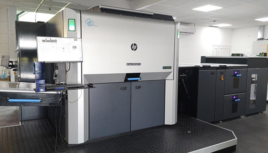 HP Indigo 12000, prva B2 digitalna štamparska mašina